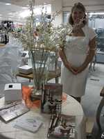 Forsyth Woman EngagedMagazine was available to talk to brides-to-be and guests at theBelk Engagement Party.