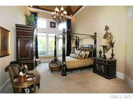 Master Bedroom Suite also includes a sitting room