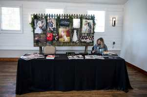 J. Darren Photography was available to talk about those wedding photos and packages they had.