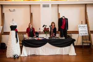 Christopher's Formal Wear was present to help guests with all their clothing wedding planning.