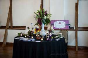 Sophisticated Florals by Stephanie was present at theWinMock Bridal Show to show couples some more flower arrangements for their wedding planning.
