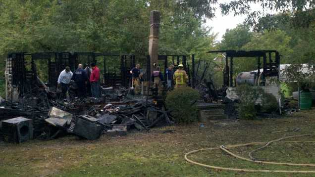 Fatal house fire in Rockingham County