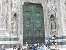 The beautiful intricate artistry in the doors of the Santa Maria del Fiore Cathedral on the Piazza del Duomo would be enough to want to go to Italy on your honeymoon. Not to mention the amazing beaches off the Amalfi Coastline.