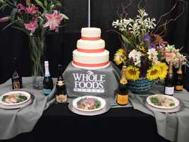 Whole Foods Market can even make nice flower arrangements and cakes for your wedding parties and/or wedding.