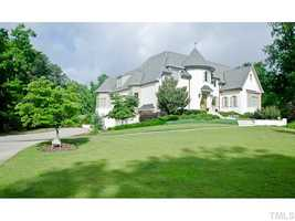 This Durham home has beautiful views of Hope Valley golf course and is priced at $1,290,000.