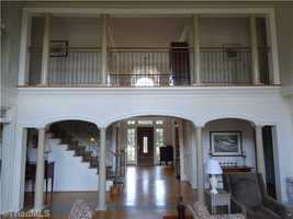 Front Entrance view from the living area
