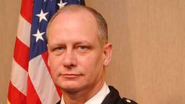 Burlington police chief Michael Williams