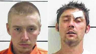 Dillon Leftwich, left, and James Marsh, right (Courtesy Mount Airy News)