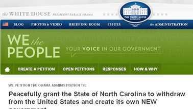 North Carolina secession petition