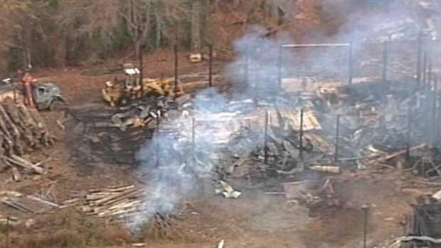 Haywood Community College  fire