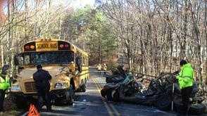 Roanoke County fatal school bus crash