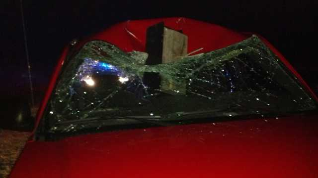 Mailbox hits vehicle in Greensboro