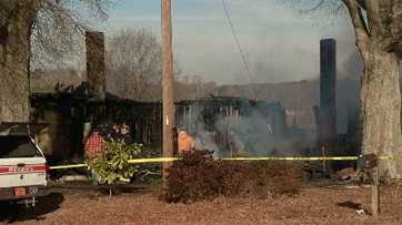 Stanly County house fire