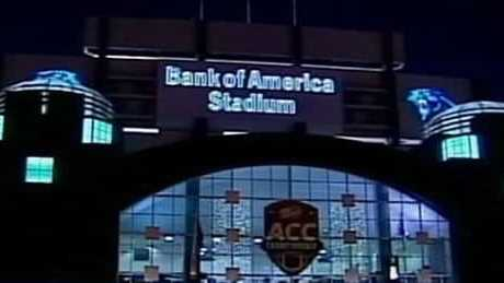 Bank of America Stadium for ACC Championship Game