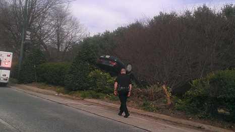 Crash on University Parkway
