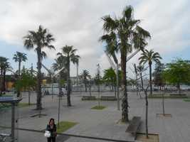Several parks and plazas to enjoy the locals and get information to the next best restaurant to eat at or museum to visit...
