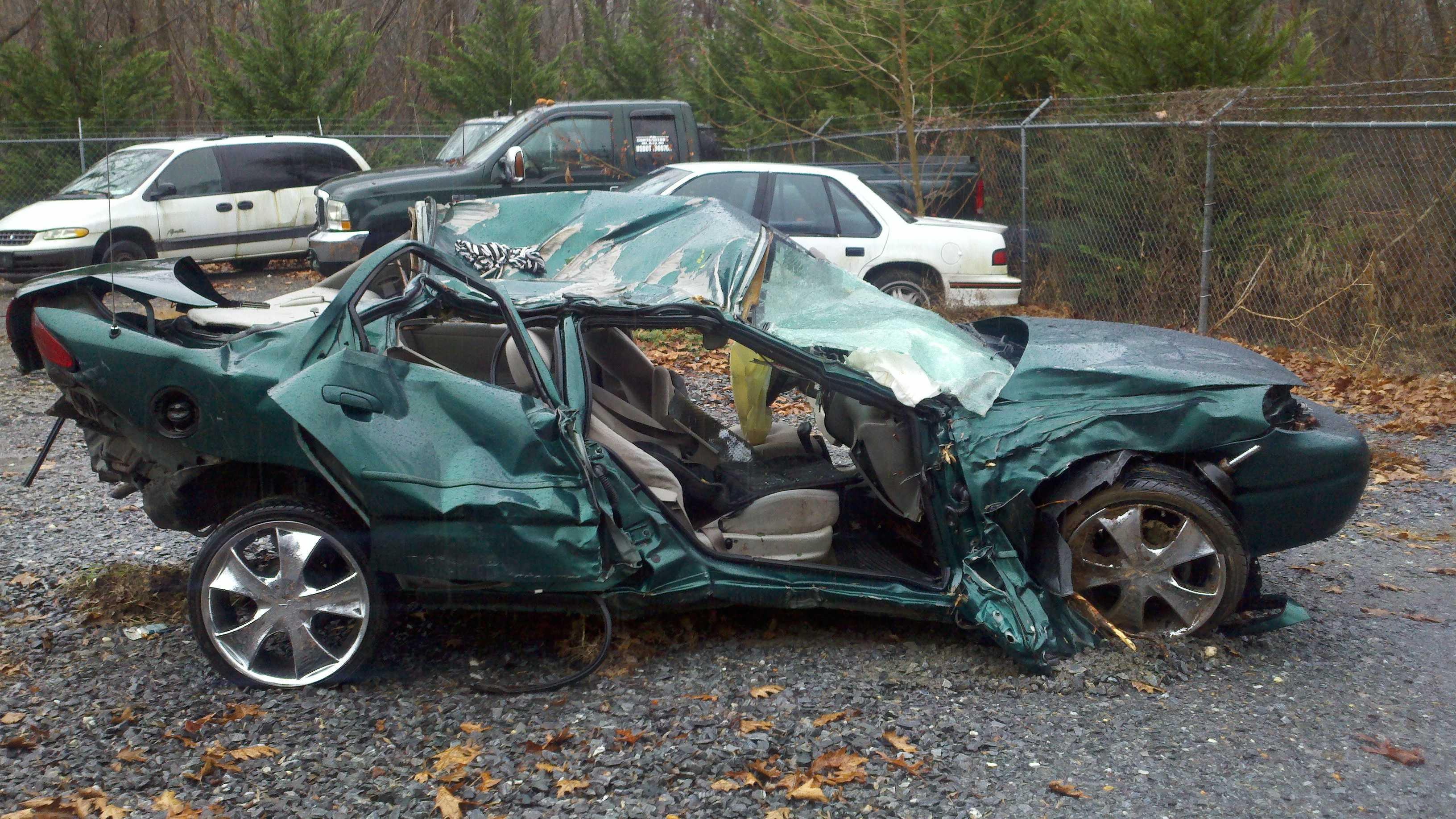 Car in Mount Airy Crash