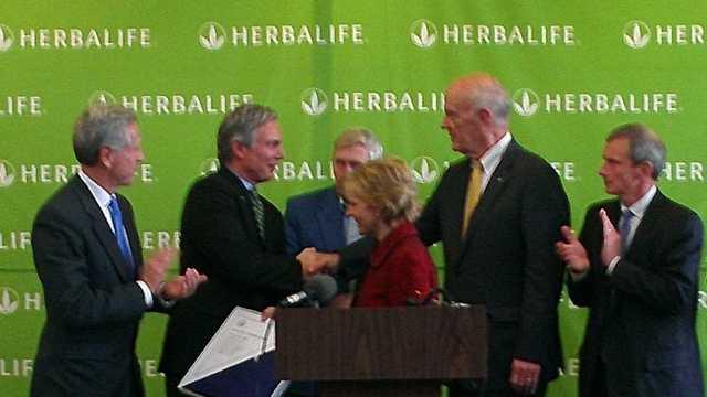 Herbalife jobs announcement