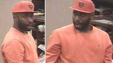 Surveillance images of suspect in Macy's Friendly Center robbery (Crime Stoppers)