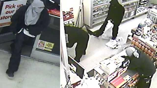 Surveillance images courtesy Burlington police