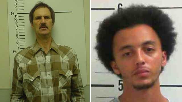 Joseph Ezekiel, left, and Derrick Simmons, right (Mount Airy police)