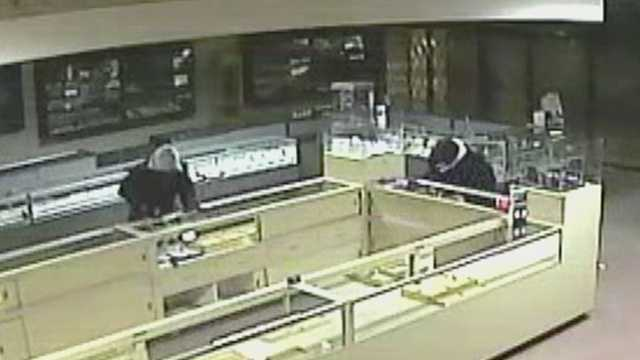 Jewelry store burglary in Reidsville