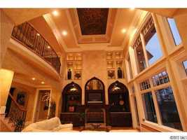 Two-Story Great Room with domed ceiling