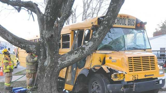 School bus crash in High Point
