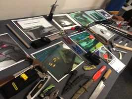 You check out more items confiscated at airports across America on the TSA website.