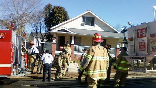 Winston-Salem house fire