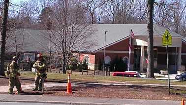 Gas leak on Dartmouth Road in Winston-Salem