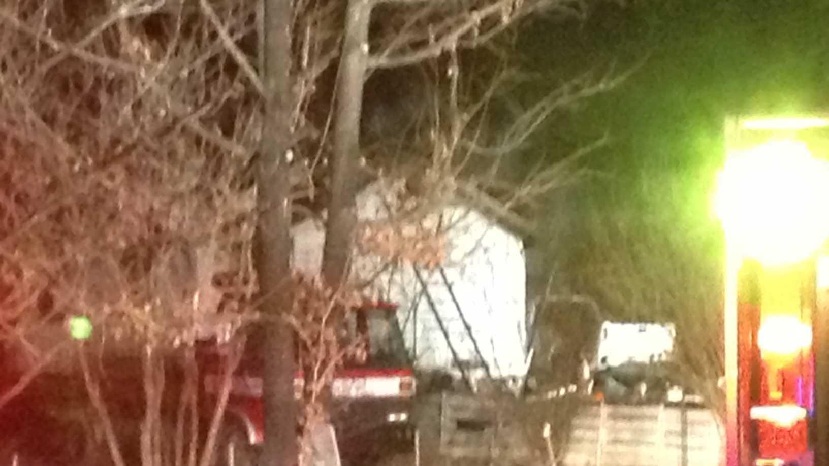 Craig Greensboro fire photo