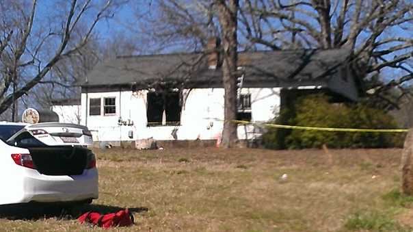 Fatal fire in Gibsonville