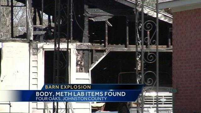 Barn explosion image