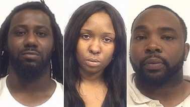 Tracy Andrews Jr., Shamika Clinkscale and Jarmarphio Moose