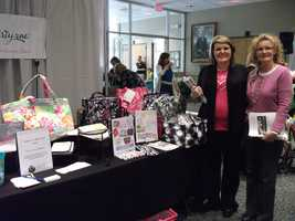 Thirty-One Gifts was present at the Expo to help future brides and their guests look at gifts for everyone.