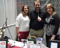 Hampton Inn Wilkesboro was represented at the wedding show to explain their accommodations and venue availability.
