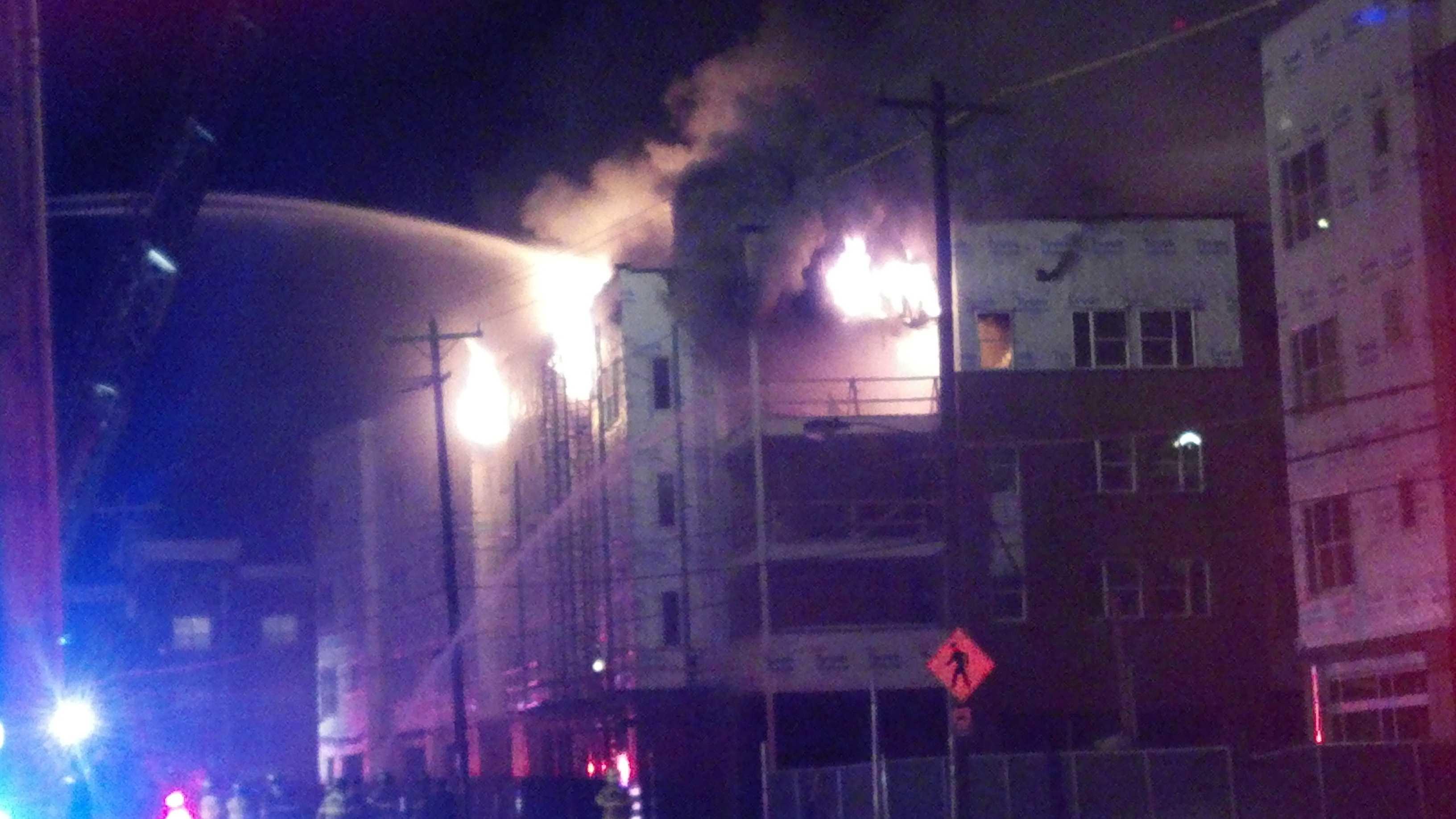 Greensboro fire image