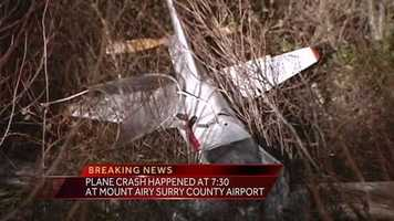 Rescue and hazmat crews, along with AirCare, responded to the scene. Witnesses told authorities the plane was in distress and that it crashed shortly before 7:30 p.m.