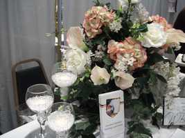 Click here to see more of Cherished Moments Weddings and Events decor for a beautiful wedding reception.