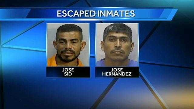 Sheriff: 2 inmates escape from High Point jail