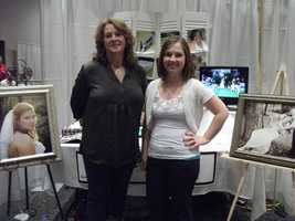 Kari V Photography was at the event to help couples decide on what they would like for their wedding photo plans. (facebook page)