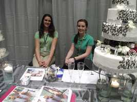 The Cake Diva was represented to talk to couples about cake prices, tastes and creative wedding cake looks. (zcakediva@gmail.com)