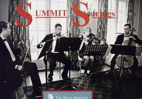 Summit Strings could play before the wedding and during the reception.