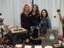 Mary Kay was represented at the Wedding Expo discussing with all the brides their makeup needs for her special day.