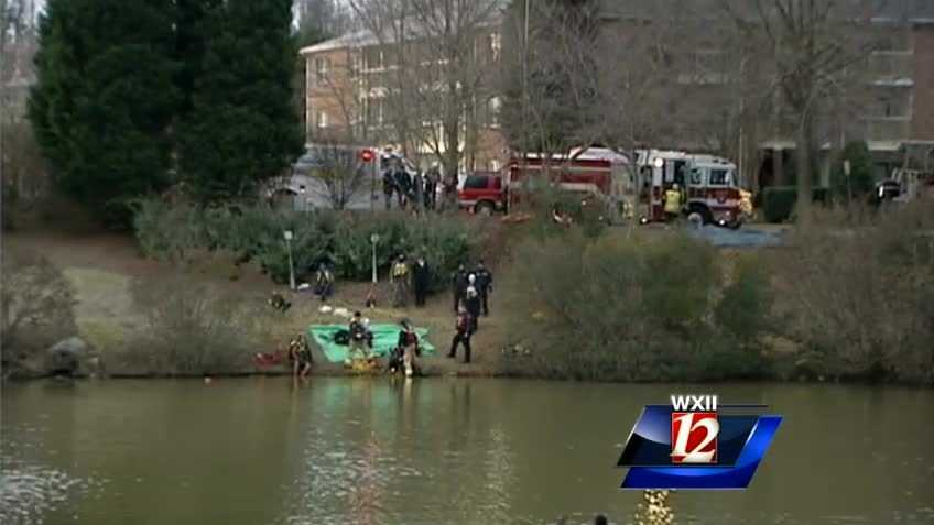 3 drown in cold High Point pond