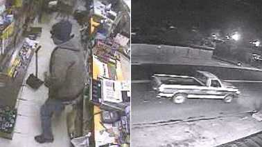 J Mart armed robbery surveillance images