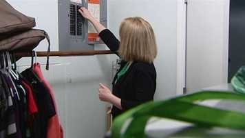 The first thing you want to do when the power goes out is turn off your breakers to the A/C, furnace and items like your water heater, computers and television.