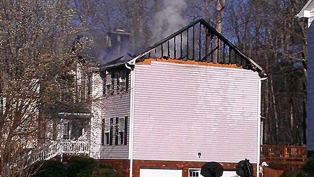 House fire in Winston-Salem