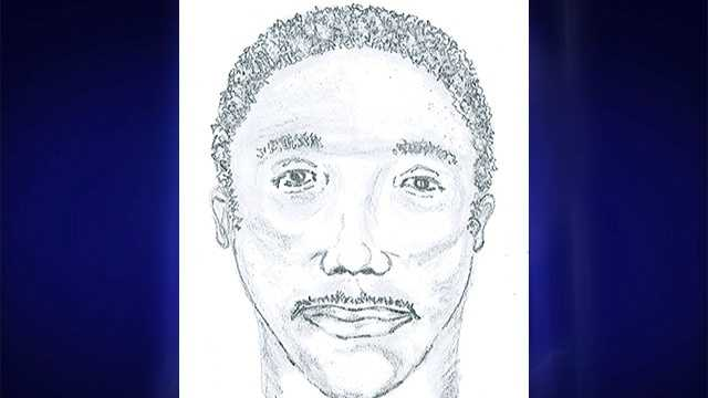 Sketch of homicide victim in Alamance County
